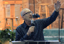 Mark Thompson Preaching at Restoration Fellowship